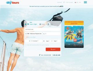skytours.org screenshot