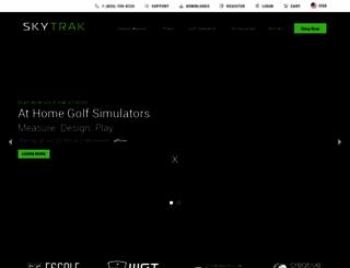 skytrakgolf.com screenshot