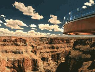 skywalkgrandcanyontours.com screenshot