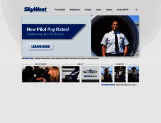 skywest.com screenshot