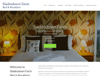 sladesdownfarm.co.uk screenshot