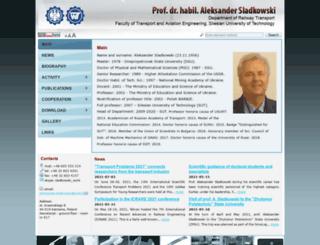 sladkowski.com screenshot
