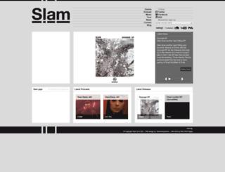 slam-djs.com screenshot