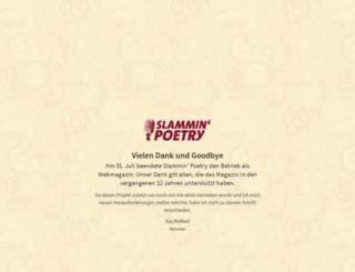 slammin-poetry.de screenshot