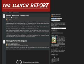 slanchreport.wordpress.com screenshot