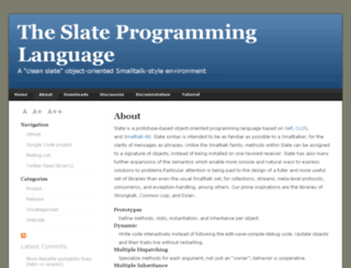 slatelanguage.org screenshot