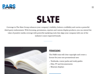 slatereprints.com screenshot