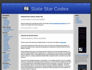 slatestarcodex.com screenshot