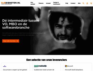 slbdiensten.nl screenshot