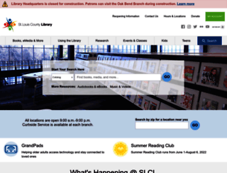 slcl.org screenshot