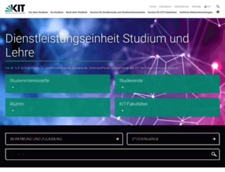sle.kit.edu screenshot