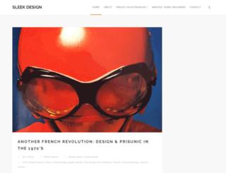 sleekdesign.fr screenshot