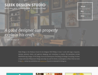 sleekdesignstudio.com screenshot