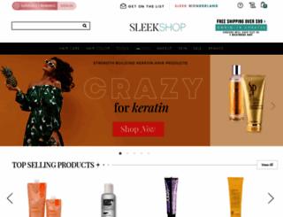 sleekhair.com screenshot