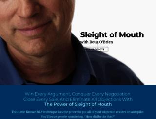 sleightofmouth.org screenshot