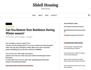 slidellhousing.com screenshot