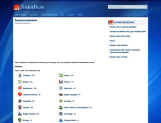 sliderbase.com screenshot
