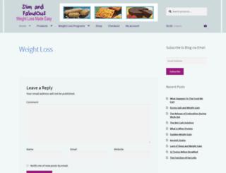 slimandfabulous.com screenshot