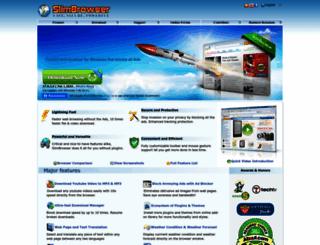 slimbrowser.net screenshot