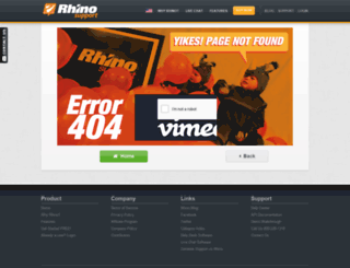 slimdrene.rhinosupport.com screenshot