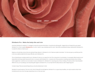 slimgenixproslimbody.weebly.com screenshot