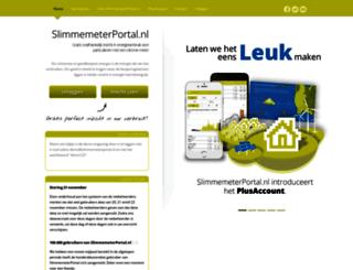 slimmemeterportal.nl screenshot