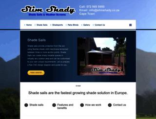slimshady.co.za screenshot