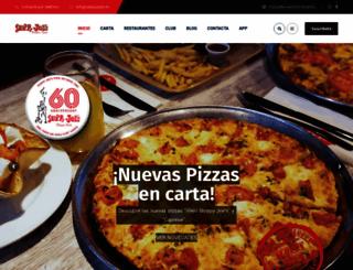 sloppyjoes.es screenshot
