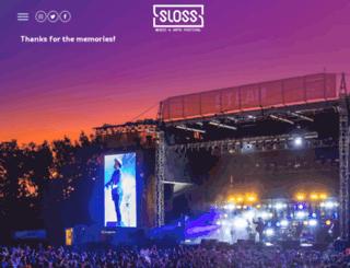 slossfest.com screenshot