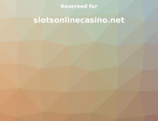 slotsonlinecasino.net screenshot