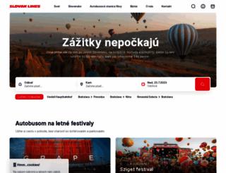 slovaklines.sk screenshot