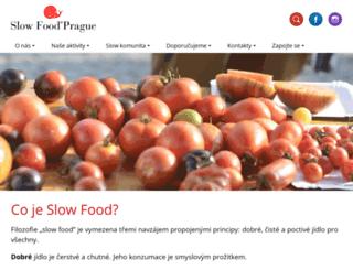 slowfood.cz screenshot