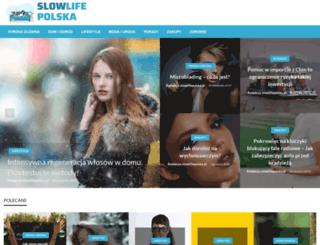 slowlifepolska.pl screenshot