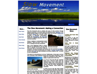 slowmovement.com screenshot