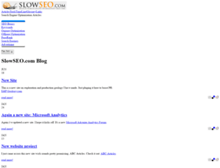 slowseo.com screenshot