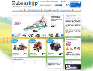 slubanshop.com screenshot