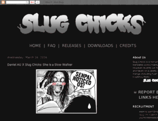 slug-chicks.com screenshot
