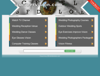 slumbervision.com screenshot