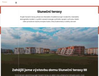 slunecniterasy.cz screenshot