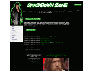 smackdownzone.co.uk screenshot