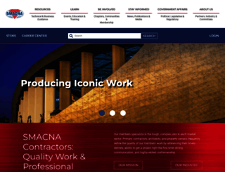 smacna.org screenshot