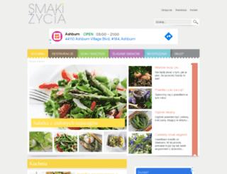 smakizycia.pl screenshot