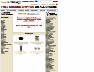 smallappliance.com screenshot