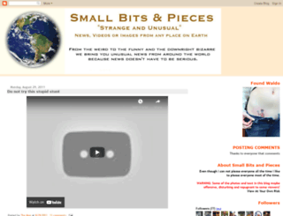 smallbitsandpieces.blogspot.com screenshot