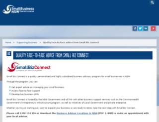 smallbiz.nsw.gov.au screenshot