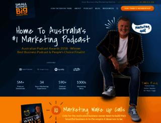 smallbusinessbigmarketing.com screenshot