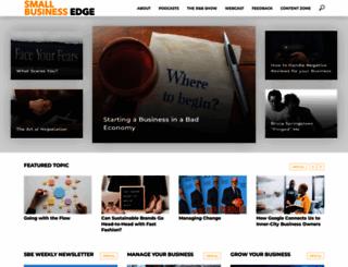 smallbusinessedge.com screenshot