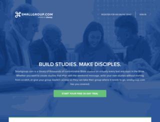 smallgroup.com screenshot