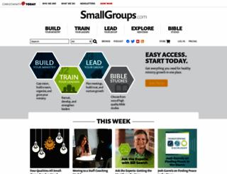 smallgroups.com screenshot