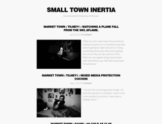 smalltowninertia.co.uk screenshot